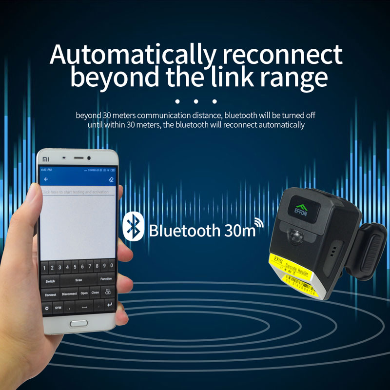 Bluetooth Ring Scanner